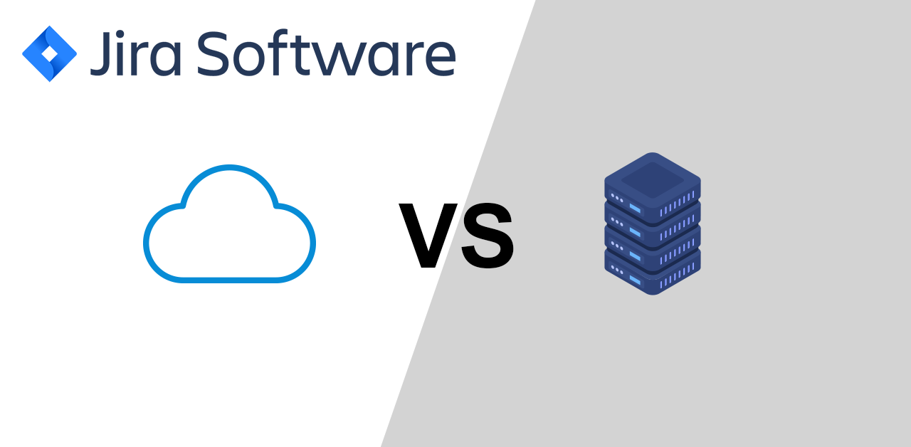 difference-between jira cloud and server